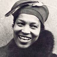 Zora Neale Hurston, author.
